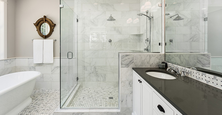 Shower Curtain vs Glass Enclosures | Bathroom Renovations Brisbane | Complete Bathroom Renovations QLD